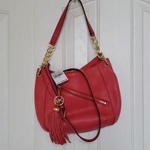 NWT Michael Kors Charm Tassel Bag